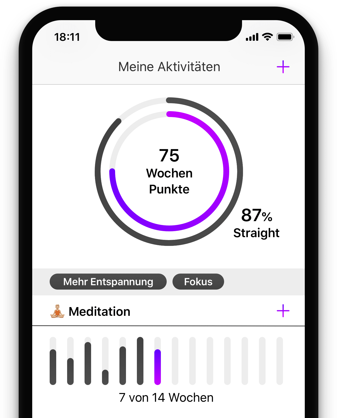Digitale Coaching App