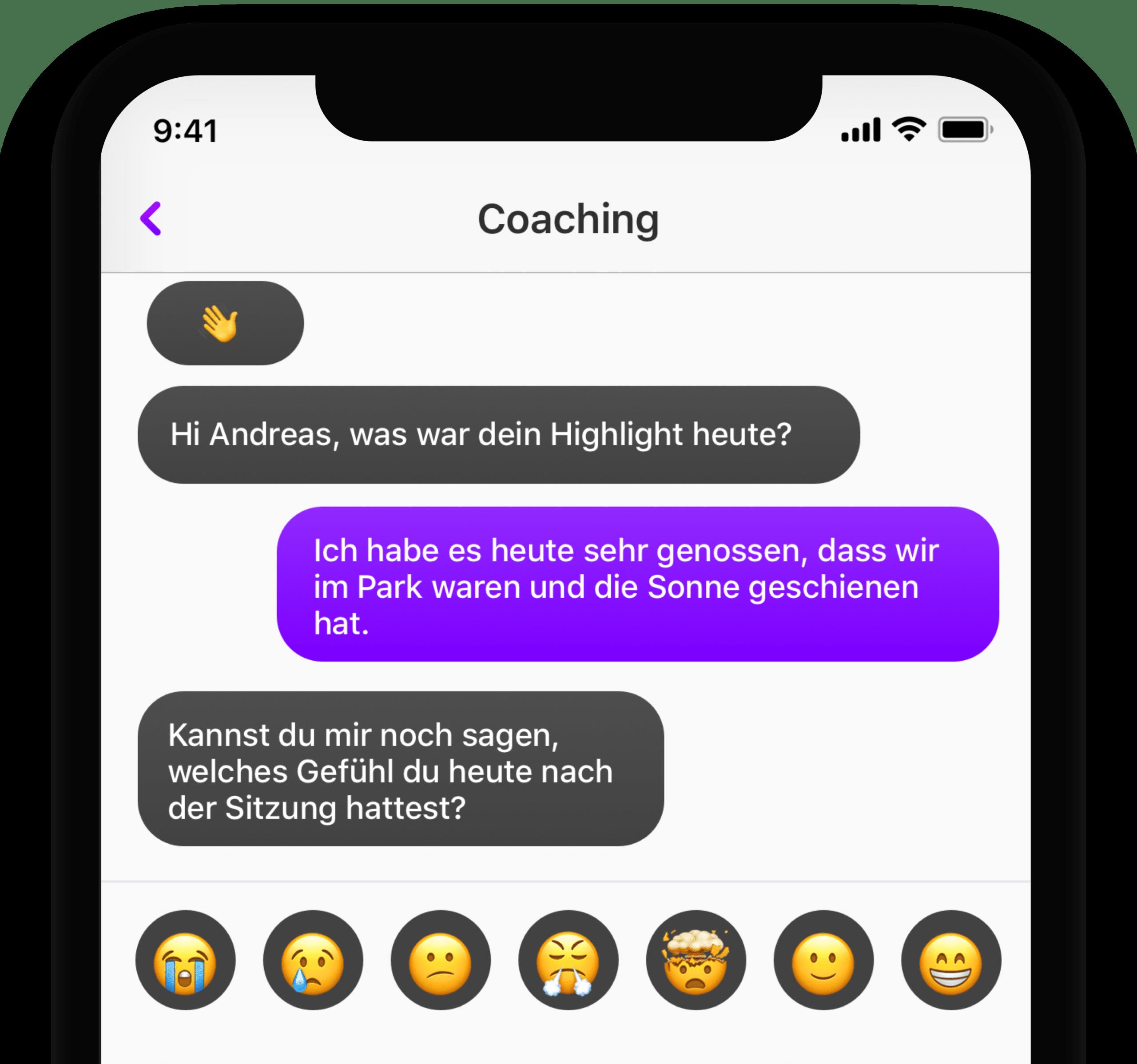 Digitale App für Ätzte Therapeuten Coaches
